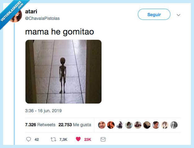 alien,gomitao,mama