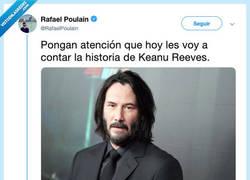 Enlace a Keanu Reeves: después de leer esta historia es comprensible que sea uno de los personajes más queridos de Hollywood, por @RafaelPoulain