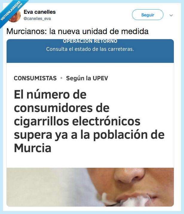 cigarros electronicos,consumidores,murcia