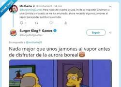 Enlace a El CM de Burger King es un fan incondicional de los simpsons...