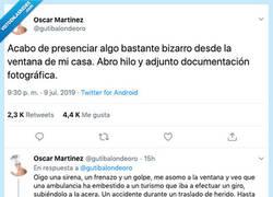 Enlace a Cuenta el accidente más loco y extraño que ha visto nunca,, por @gutibalondeoro