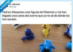 Enlace a Las figuras de estos pokémons parece que están pidiendo la muerte, por @Carlos Aguilar