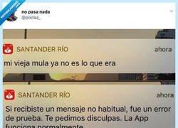 Enlace a A la App del Santander se le han cruzado los cables, por @pixitaa_