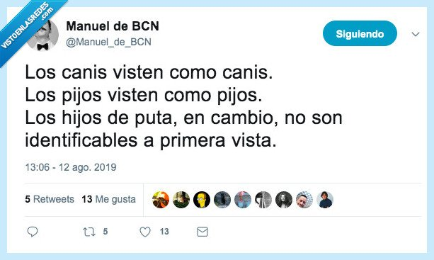 canis,pijos,ropa