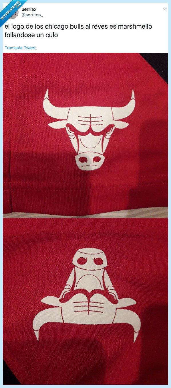 chicago bulls,dar la vuelta,logo