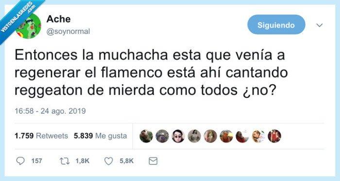 flamenco,reggaeton,rosalía,tra tra