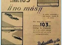 Enlace a Los ofendiditos de hoy en día fliparían con estos anuncios. Fumar cura el asma, beber 1L de vino al día es bueno, y muchos más
