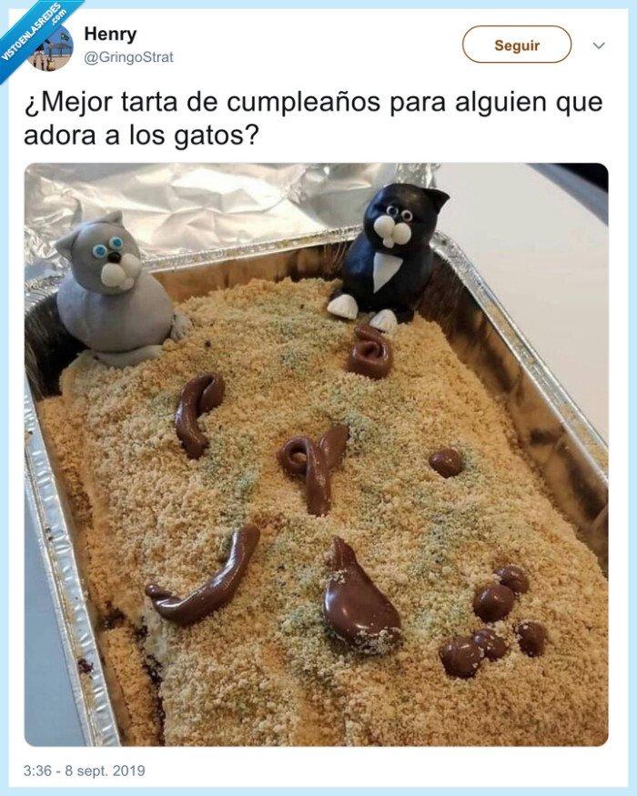 asco,fondant,gatos,tarta