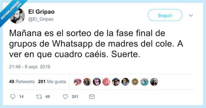 colegio,madres,whatsapp