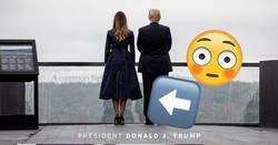 Enlace a El vestido de Melania Trump para el 11S levanta la polémica por el detalle de las costuras, por @PoliticayModa