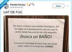 Enlace a Hay que ser degenerado, por @PatufetSedicios