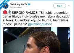 Enlace a Apoteósico zasca a Sergio Ramos dándoselas de listo