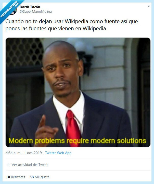 fuentes,problema,wikipedia
