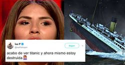 Enlace a La de zascas que se lleva Chabelita tras acabar de ver Titanic