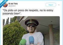 Enlace a Un respeto, por @eldelteto
