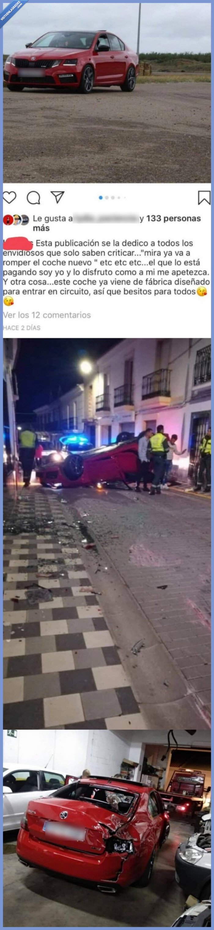 accidente,coche,roto