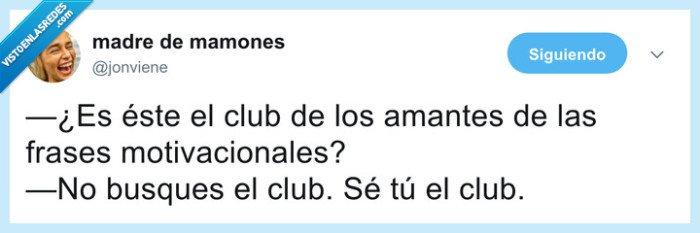 club,motivacional