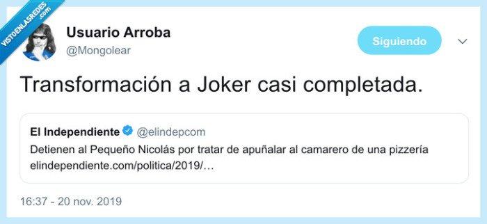 francisco nicolas,joker,puñalada