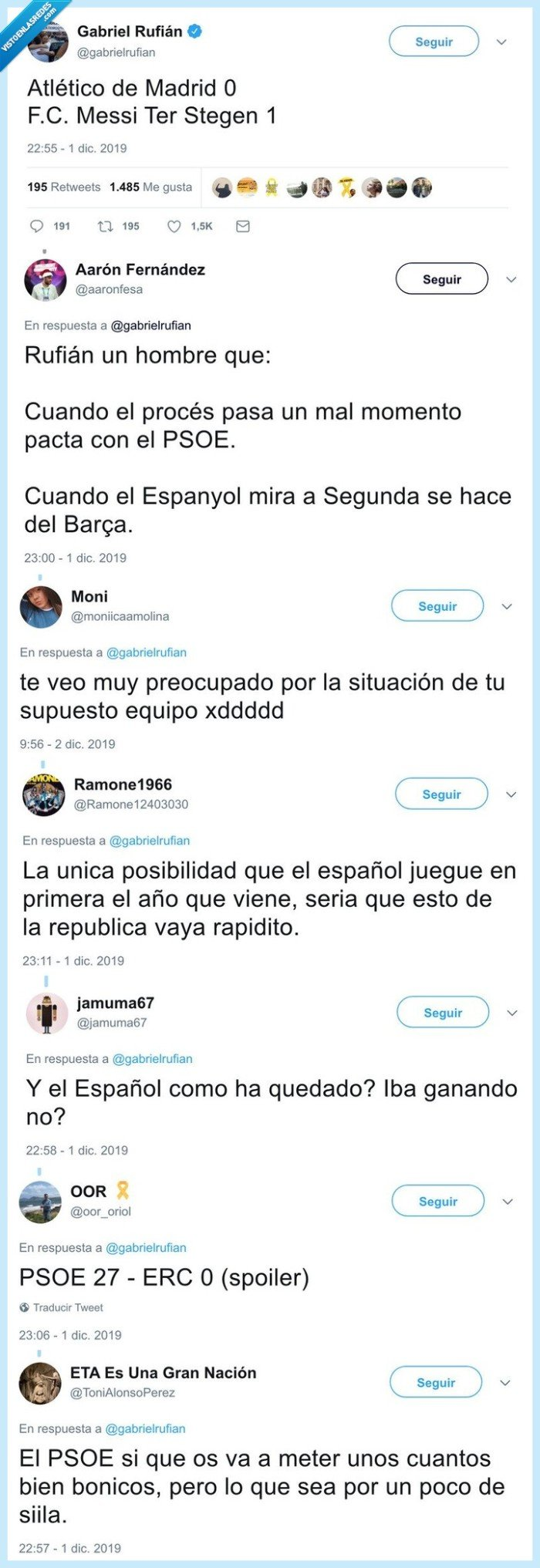 barcelona,chaquetero,erc,gabriel rufián