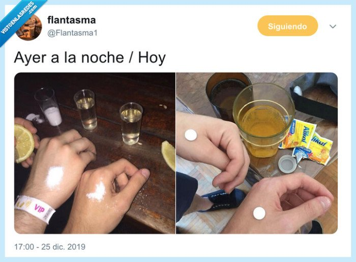 ibuprofeno,nochevieja,sal,tequilas