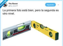Enlace a Esto es otro nivel, por @the_raven77