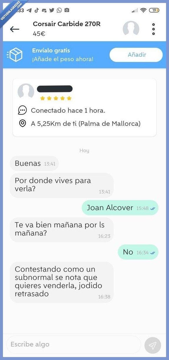 arisco,venta,wallapop