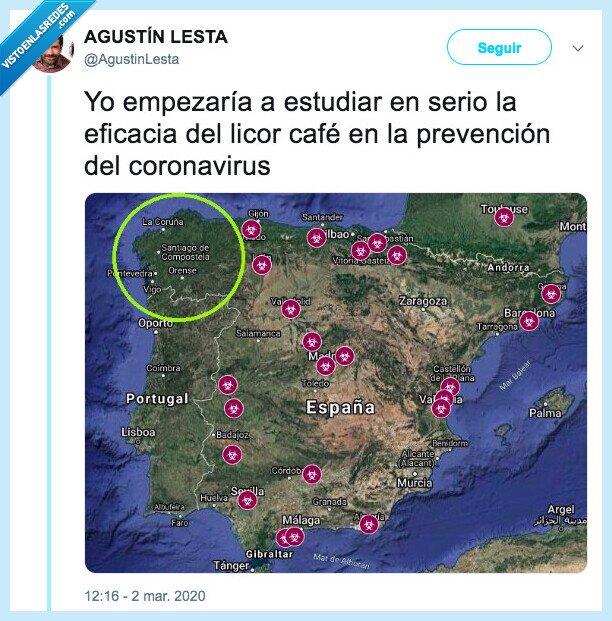 coronavirus,galicia,licor café