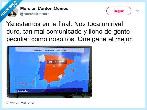 coronavirus,galicia,murcia