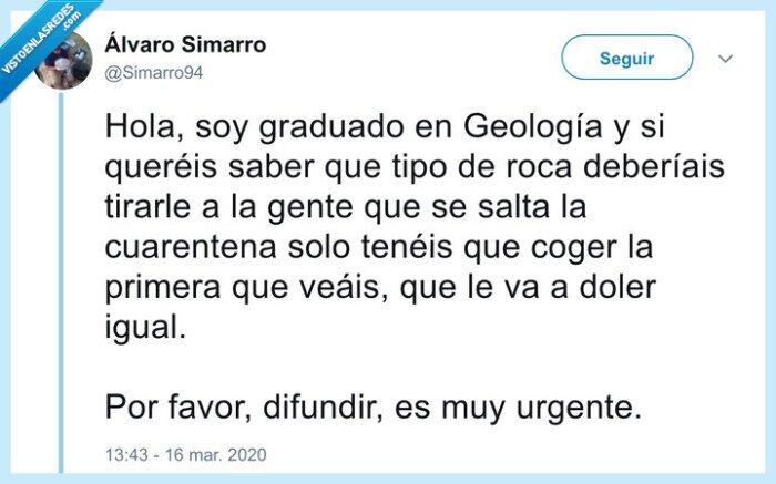 cuarentena,geología,roca