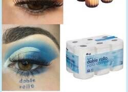 Enlace a Se maquilla imitando los productos que más se agotan en Mercadona en tiempos de confinamiento. Vía @mmalikkka