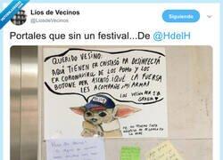 Enlace a Empiezan a ser creativos, por @LiosdeVecinos
