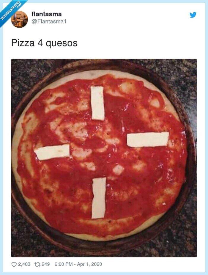 Pizza,quesos