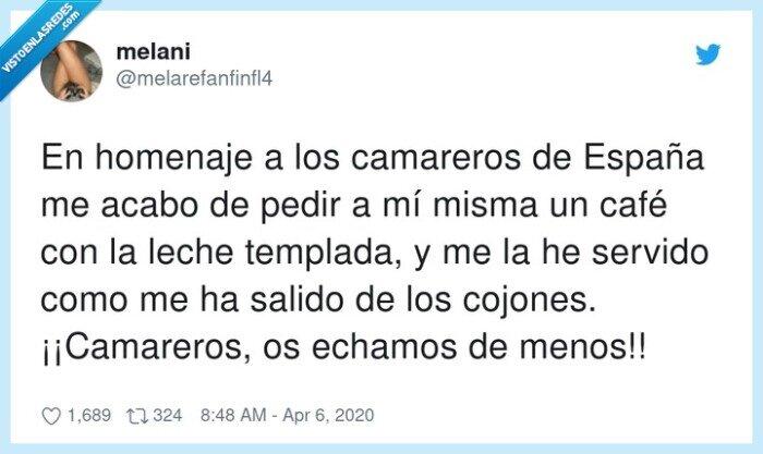 Camareros,echamos,España,homenaje,templada