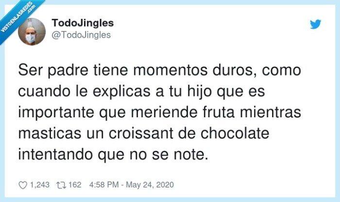 chocolate,croissant,educación,hijos,importante,intentando,momentos