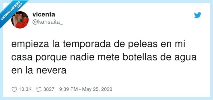 botellas,empieza,nevera,peleas,temporada
