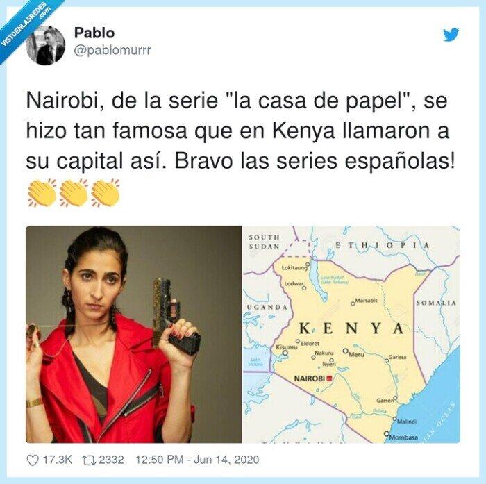 capital,españolas,kenya,la casa de papel,nairobi