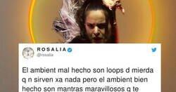 Enlace a Rosalía escribe un tweet indescifrable y la gente ya apuesta porque ha perdido la cabeza, por @rosalia