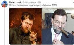 Enlace a El mejor hilo que verás hoy: obras de arte que encuentran paralelismo con Mariano Rajoy, por @alain_acevedo