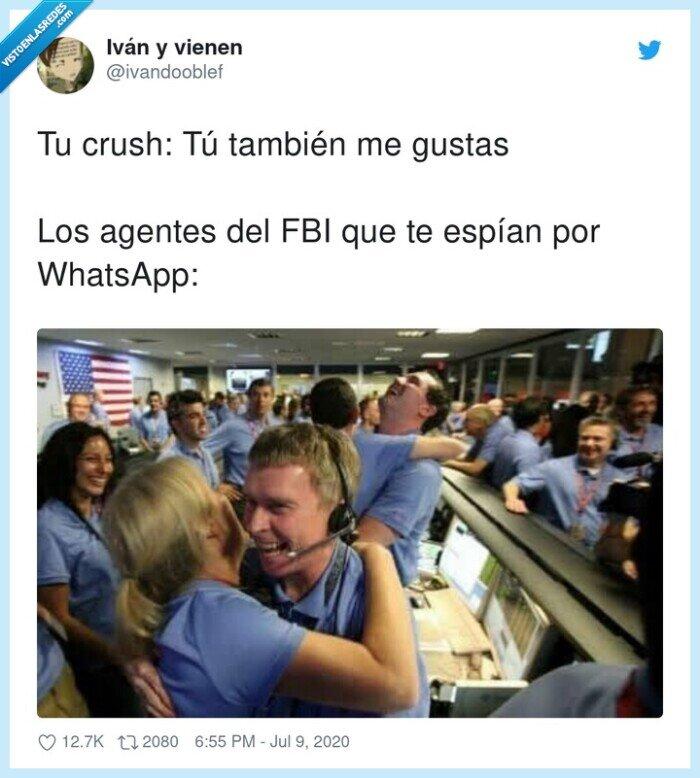 agentes,crush,espías,fbi,whatsapp