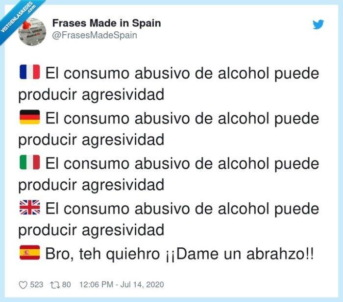 agresividad,alcohol