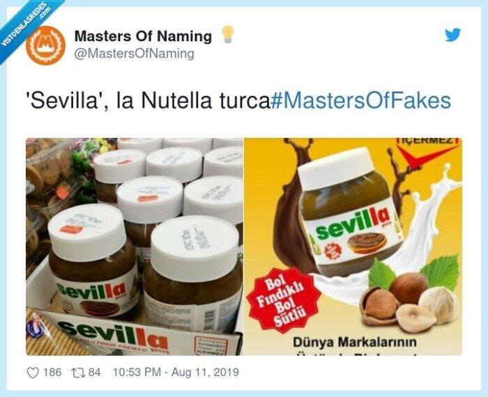 naming,nutella,Sevilla,Turquía