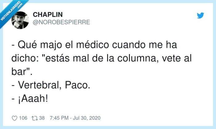 bar,columna,médico,vertebral