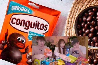 659410 - Unos youtubers extranjeros prueban por primera vez snacks de España y su reacción cuando ven los Conguitos es brutal