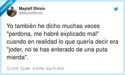 Enlace a Muy real, por @MaylaifDhisis