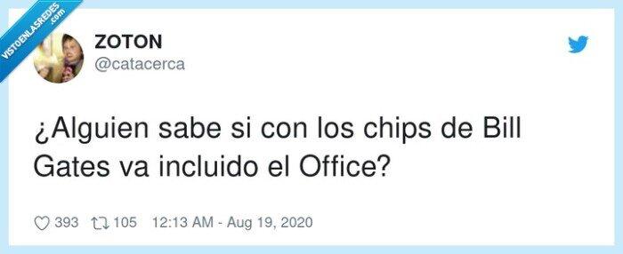 bill,chips,gates,incluido,office