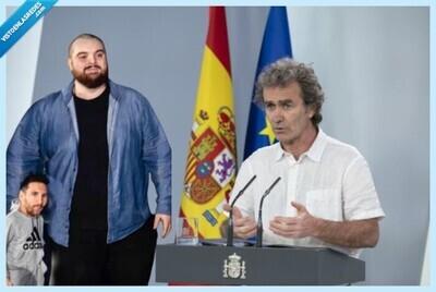 670688 - Ibai se convierte en Fernando Simón: el aplaudido discurso contra los culés que fueron a quejarse por la marcha de Messi en el Camp Nou