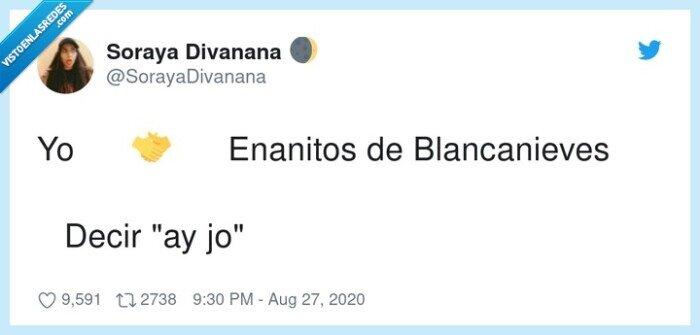 ay,blancanieves,enanitos,jo,yo