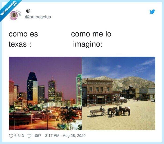 imaginación,realidad,texas