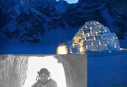 Enlace a Enseña fotos de cómo su abuela vivía en un iglú hace 71 años y deja alucinando a todo el mundo; imágenes que le dan mil vueltas a lo que solemos ver por Instagram