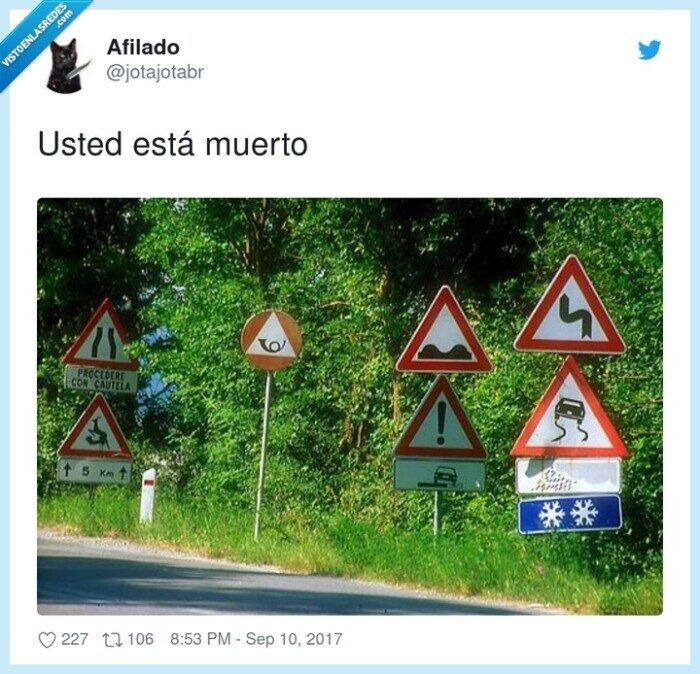 carretera,mil,señales,tráfico